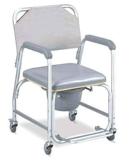 3 in 1 commode wheelchair bedside toilet shower chair