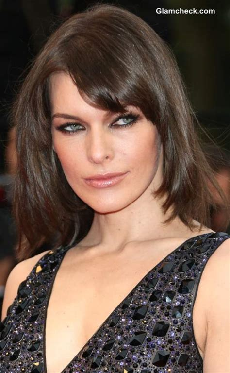 hairstyling fine hair  milla jovovich