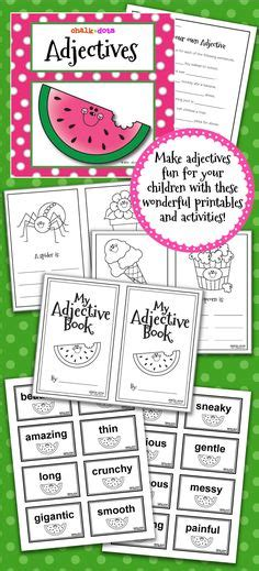 adjectives images adjectives teaching