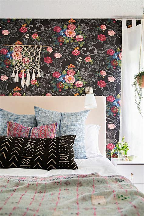 tapisserie de chambre a coucher le papier peint en 52 photos pleines d 39 idées