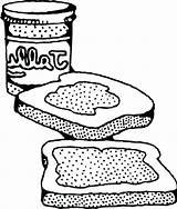 Peanut Sandwich Butter Coloring Pages Drawing Getdrawings Halloween Colouring Printable Getcolorings Print Popular sketch template