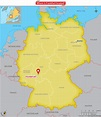 Where is Frankfurt located? - Answers