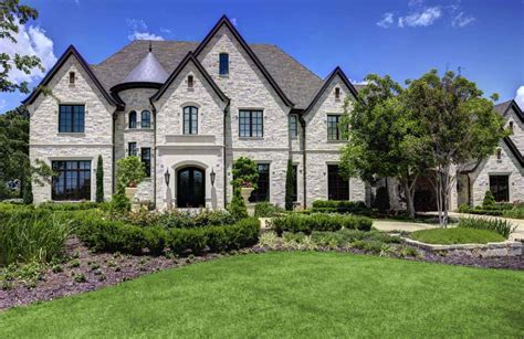 Chateau Style Homes by A Chateaux Style Home In Southlake
