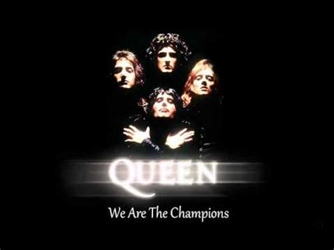 Queen  We Are The Champions *hq* Youtube