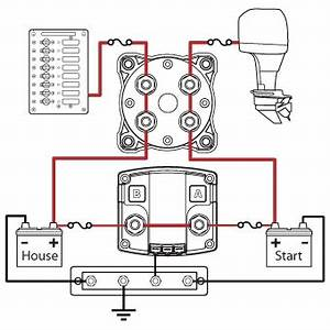 Boat Wiring Diagram Dual Batteries : add a battery kit 120a blue sea systems gadgets ~ A.2002-acura-tl-radio.info Haus und Dekorationen