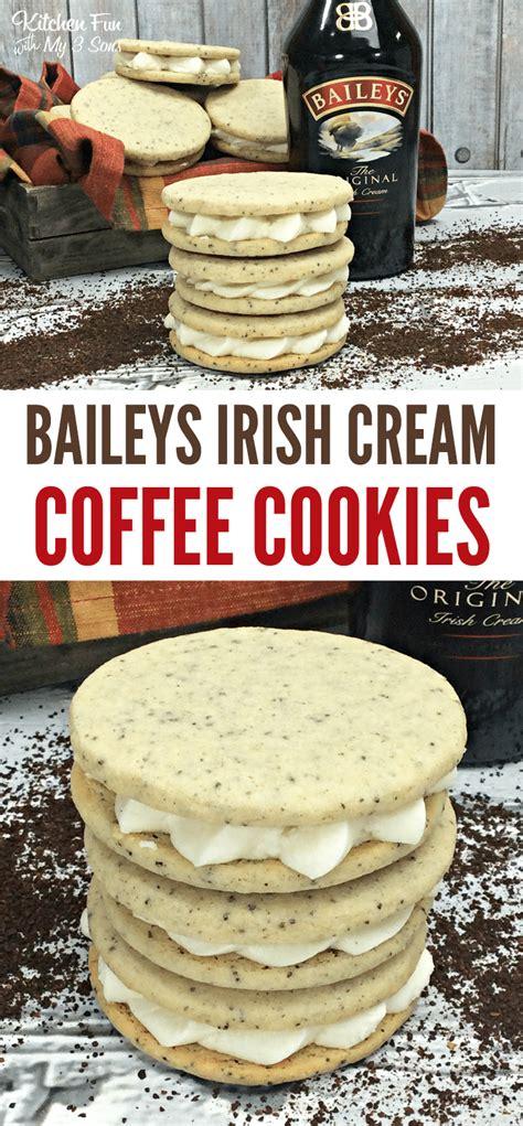 Make sure to shake it up before using it because the chocolate sauce tends to settle to the bottom. Bailey's Irish Cream Coffee Cookies   Baileys irish cream ...