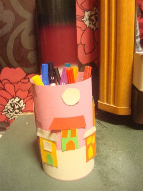 funky  cool pencil   holder     pot