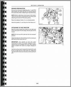 New Holland 451 Sickle Bar Mower Operators Manual
