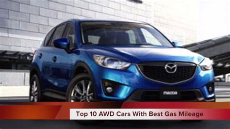 Awd Cars With Best Mpg by Top 10 2013 Awd Cars With Best Gas Mileage
