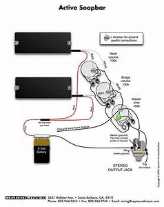 Fender Jazz Wiring Diagram Schematic