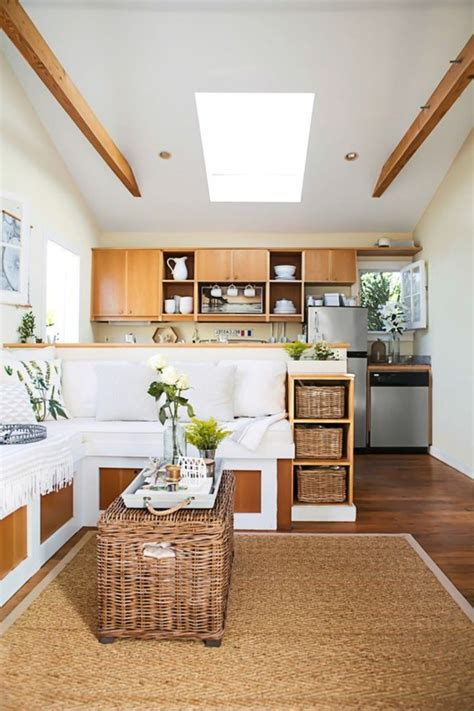 cuisine ouverte salon petit espace 83 photos comment aménager un petit salon archzine fr