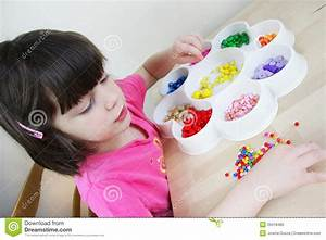 Montessori Kindergarten Royalty Free Stock Photo