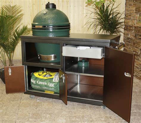 big green egg kitchen challenger outdoor grill carts large cart fireside 4623