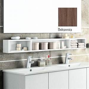 Rangements Salle De Bain : meuble de rangement ouvert 120x15 cm modulo 120 ~ Nature-et-papiers.com Idées de Décoration