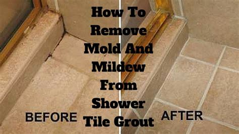 How To Uninstall A Shower - how to remove mold and mildew from shower tile grout