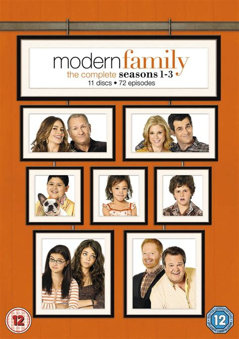 modern family season 1 3 box set dvd 5039036055017 ebay