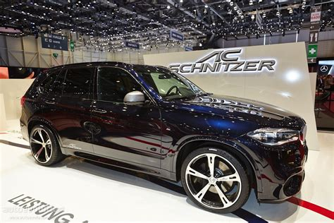 Ac Schnitzer Bmw X5 M50d Shines Bright In Geneva [live