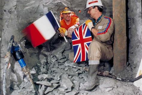 Channel Tunnel, a Look at Who Built the Chunnel - Bechtel