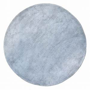 tapis rond poils courts gris clair pilepoil pour chambre With tapis gris rond