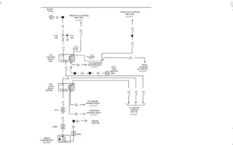 2006 International 9400i Ac Wiring Diagram by Need Help Getting A Wiring Diagram For The A C System On