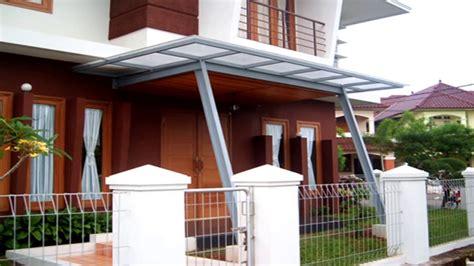 canopy rumah minimalis terbaru youtube