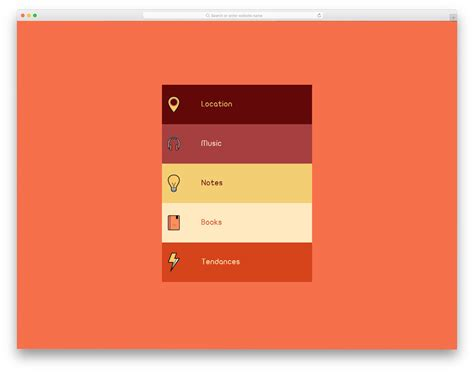 mobile accordion 22 css accordion for mobile applications and websites 2019