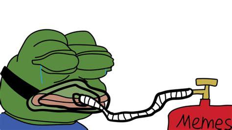 Memes Transparent - pepe high on memes transparent png stickpng