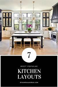 7, Most, Popular, Kitchen, Layouts