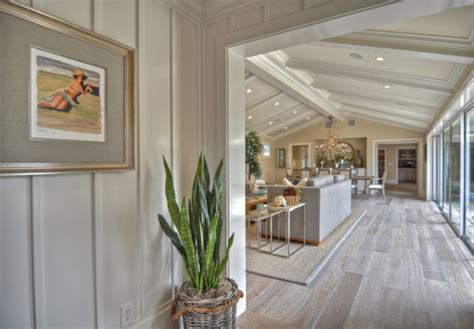 coastal style floor ls white wash pine hardwood flooring