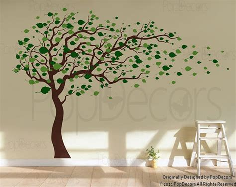tree wall decals baby room decal vinyl wall decal by popdecors