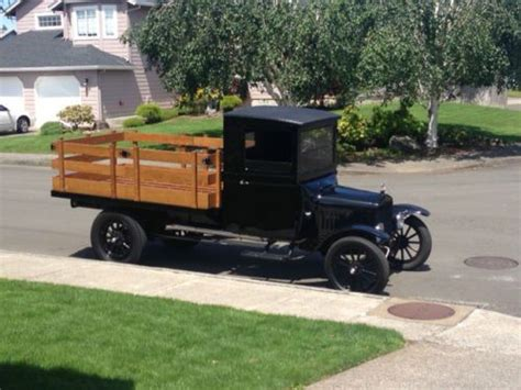 Sell Used 1925 Ford Model T Model Tt Truck In Vancouver