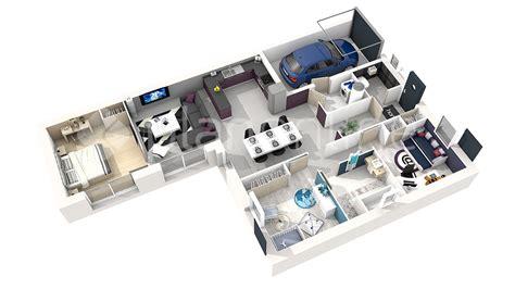 Plan De Maison 3d Maison Solimao My Planonline