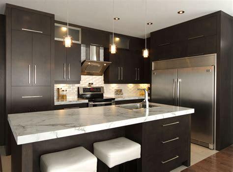 cuisine moderne noir et blanc idees de cuisine moderne noir et blanc