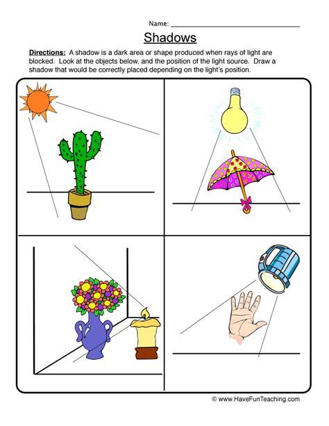 energy worksheets for kindergarten energy best free