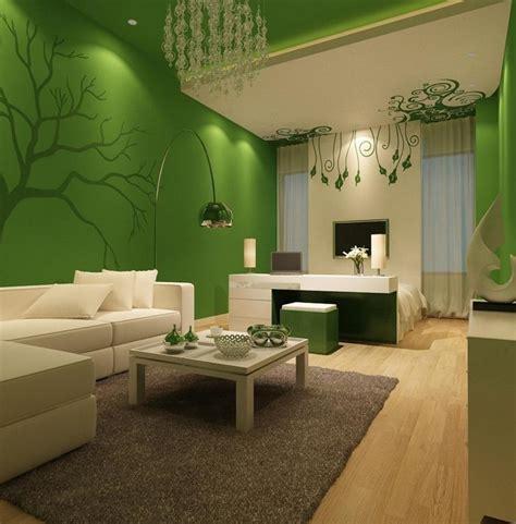 gruenes wohnzimmer design  tolle tipps und tricks