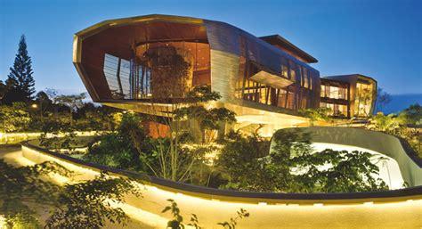 villen futuristisches luxushaus schoener wohnen