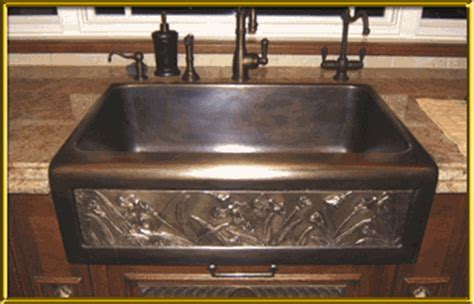"""Chameleon Single Well Bronze Sink 32""""  Artisan Crafted Home"""