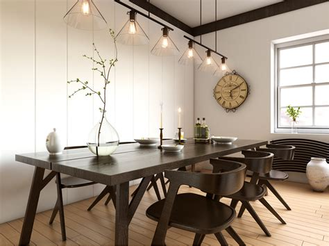 Inspirational Ideas For White And Wood Dining Rooms
