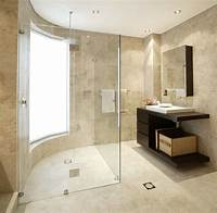 marble tile bathroom Top 5 Designer Tricks to Creatively Expand Your Bathroom Space