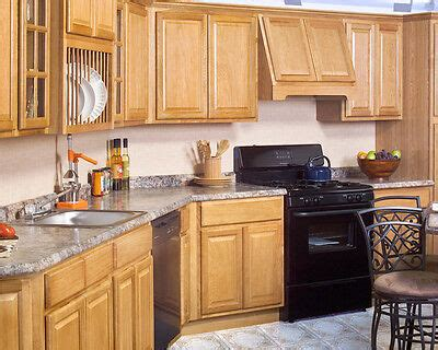wood rta  country oak kitchen cabinets
