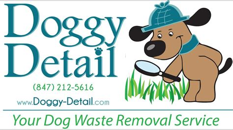 doggy detail  dog waste removal company youtube