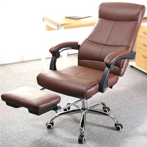 luxurious comfortable lounge chair office boss chairs