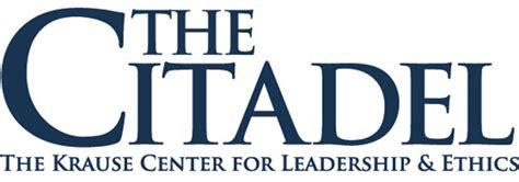 krause center  leadership ethics  citadel