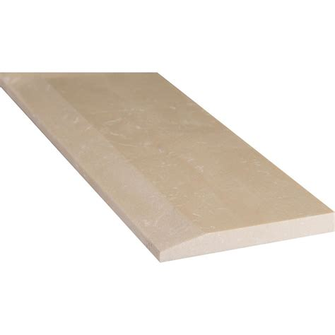 threshold marble tile ms international beige hollywood style 5 in x 30 in engineered marble threshold floor and wall