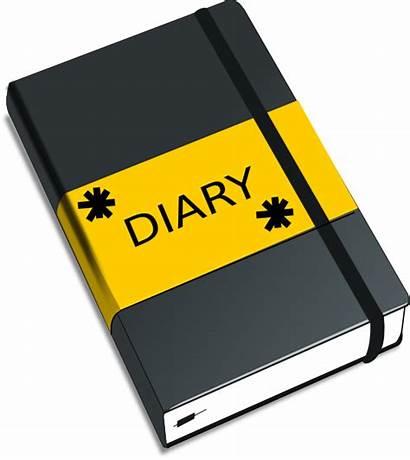 Diary Clipart Journal Diaries Entry Clip Dear
