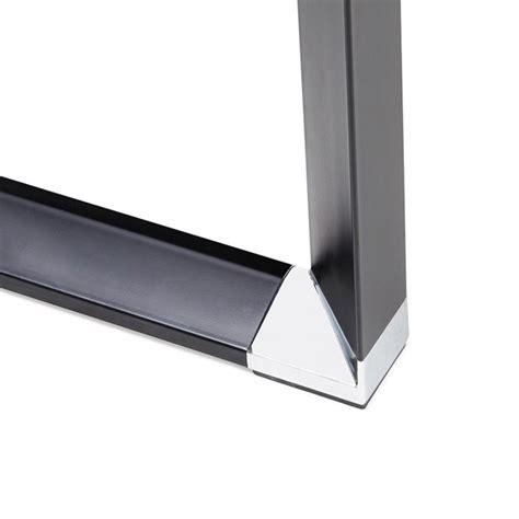 bureau d angle verre bureau d 39 angle design quot hovik quot verre noir