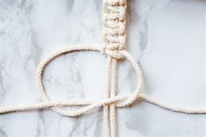 Easy Macrame Square Knot