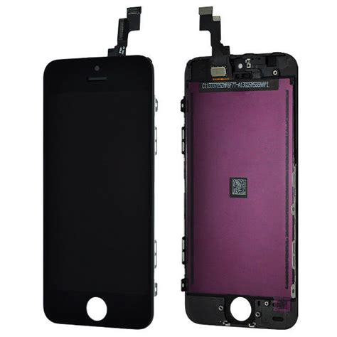 replace iphone 5s screen black lcd display touch screen digitizer assembly