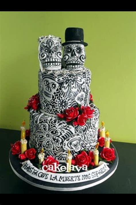 skull wedding cakes sugar skull cake if i tie the knot