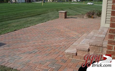 brick paver patio installation photos pin by jjw brick on brick paver patio designs